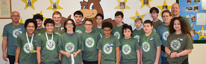 St. Baldrick's Day at the Middle School