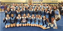 Undefeated Season for Middle School Cheer Team  thumbnail161699