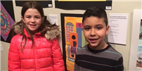 Young Artists' Work on Display