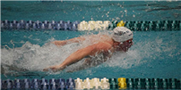 Swimmer Wins States