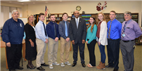 Rocky Point Students Meet With New Sheriff to Explore Government photo