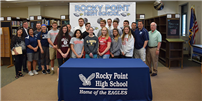 College Commitment Day for Rocky Point Eagles photo