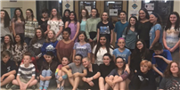 Celebrating Writers at Rocky Point Middle School photo