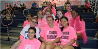 Rocky Point Paints the Court Pink photo