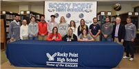 Athletes Commit to College photo