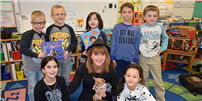 Author Visit Inspires Rocky Point Students photo