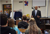 Rocky Point Students Meet With New Sheriff to Explore Government photo 3