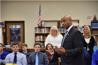 Rocky Point Students Meet With New Sheriff to Explore Government photo 4