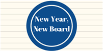 New Board Begins New Year photo