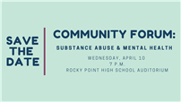 Rocky Point Hosts Substance Abuse and Mental Health Community Forum photo